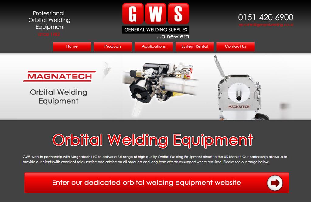 orbital welding equipment sales website