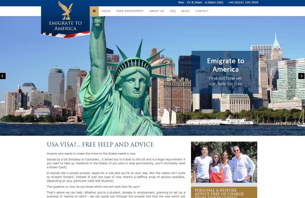 Emigrate to America EB-5 program